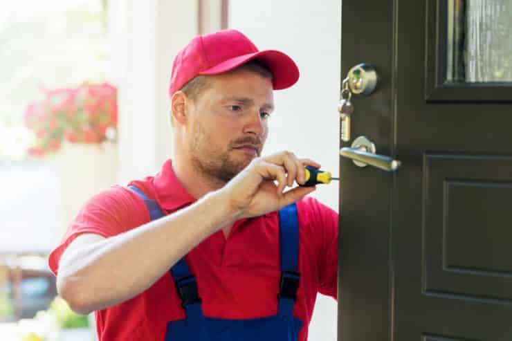 Que faire lorsque l'on a cassé sa serrure de porte?