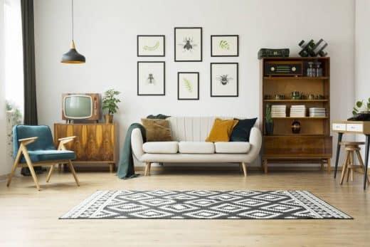Les meubles, vos meilleurs alliés pour un salon cosy