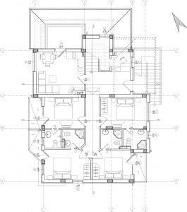 Plan de maison moderne N°1