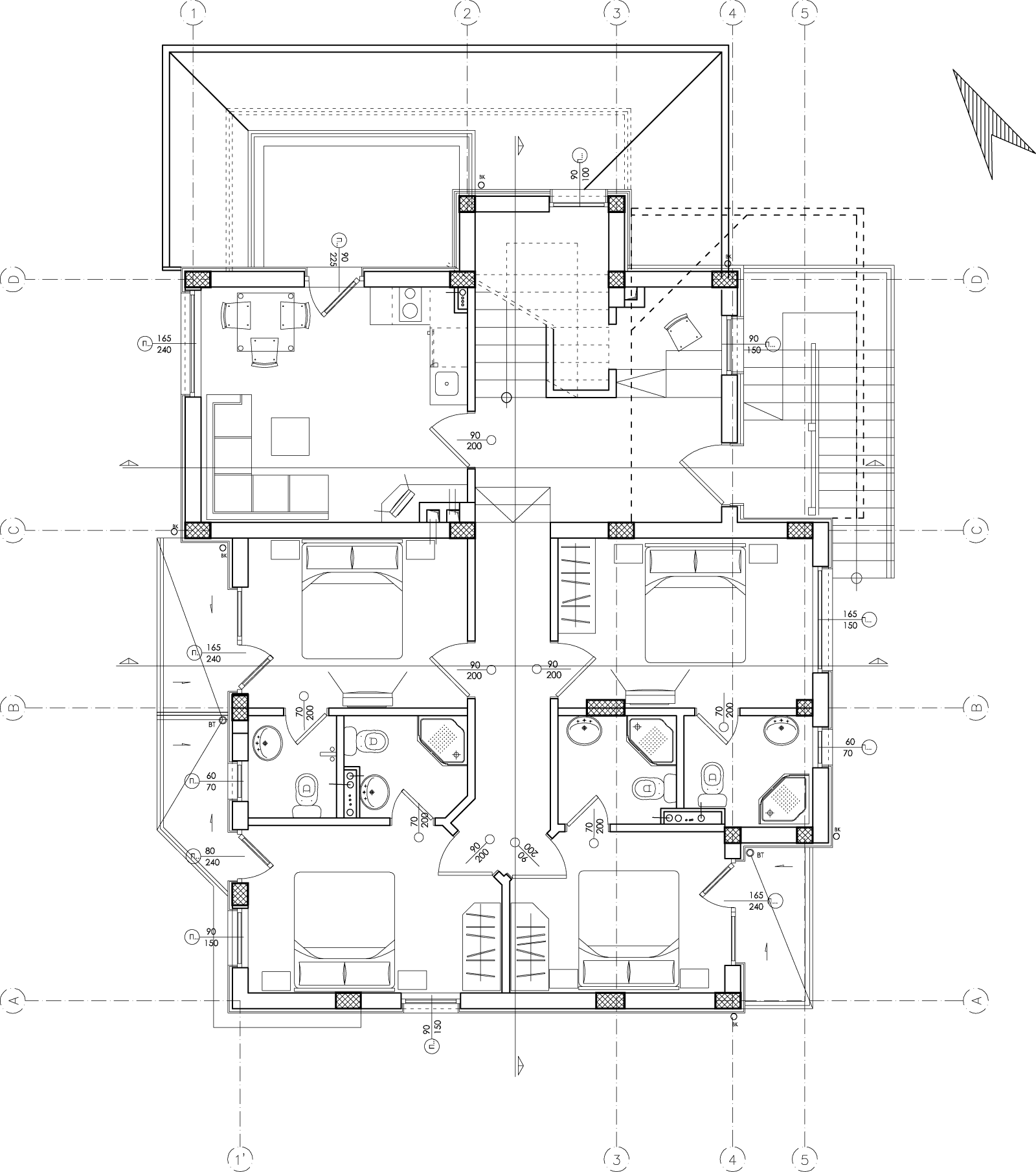 Plan De Maison Moderne plan de maison moderne gratuit : infos & téléchargement