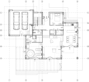 Plan de maison moderne N°2