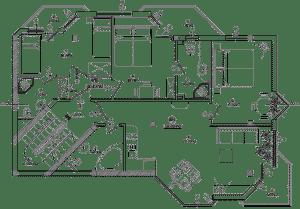 Plan de maison moderne N°3