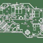 Plan de maison moderne N°6