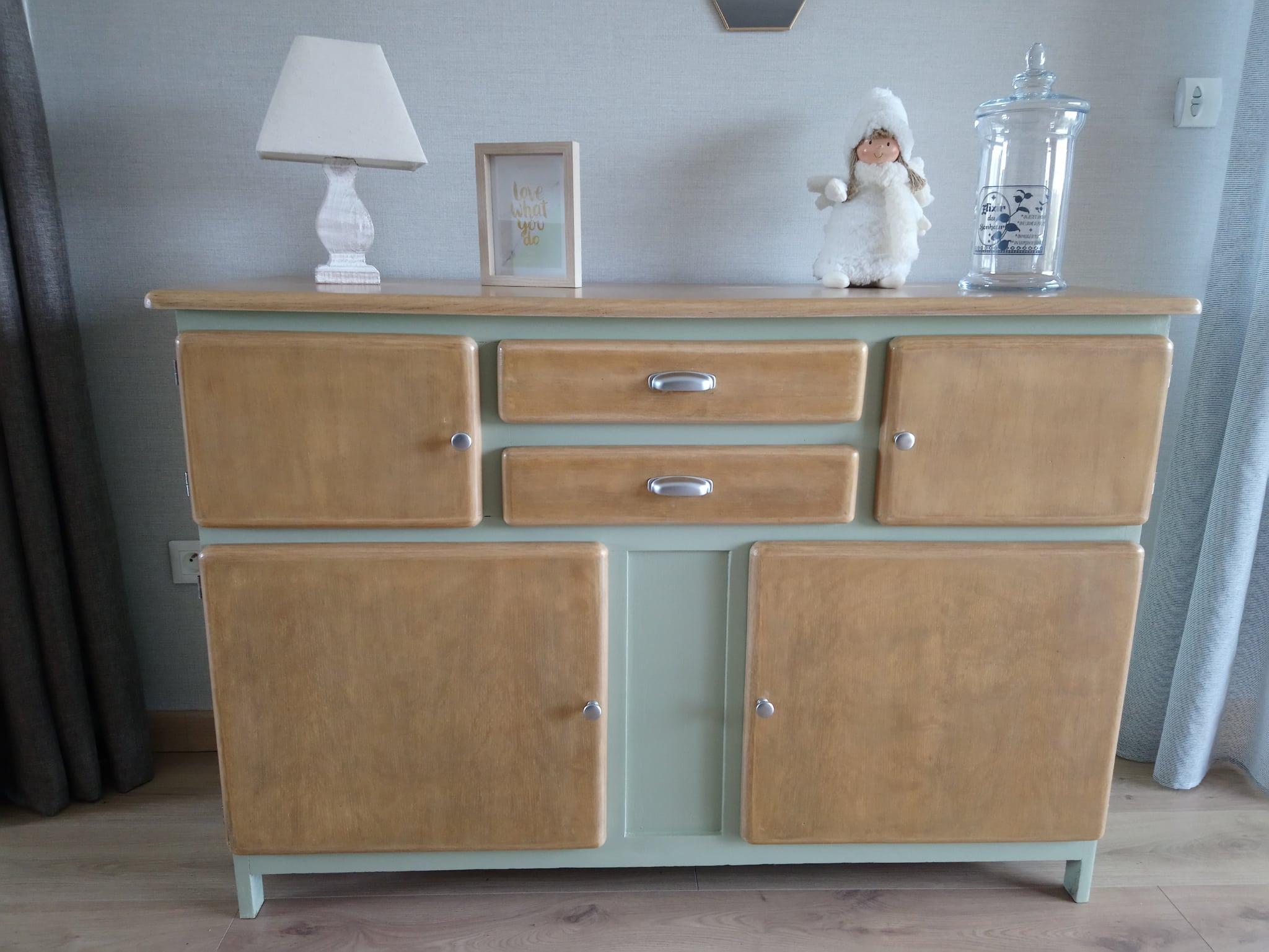 Buffet Mado : le meuble vintage des années 50
