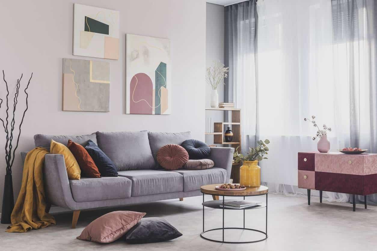 meubles salon pour aménager un salon chic et cosy