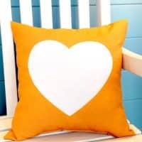 Top tendance : le coussin cœur !