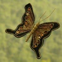 Idée déco: les papillons en fil de fer
