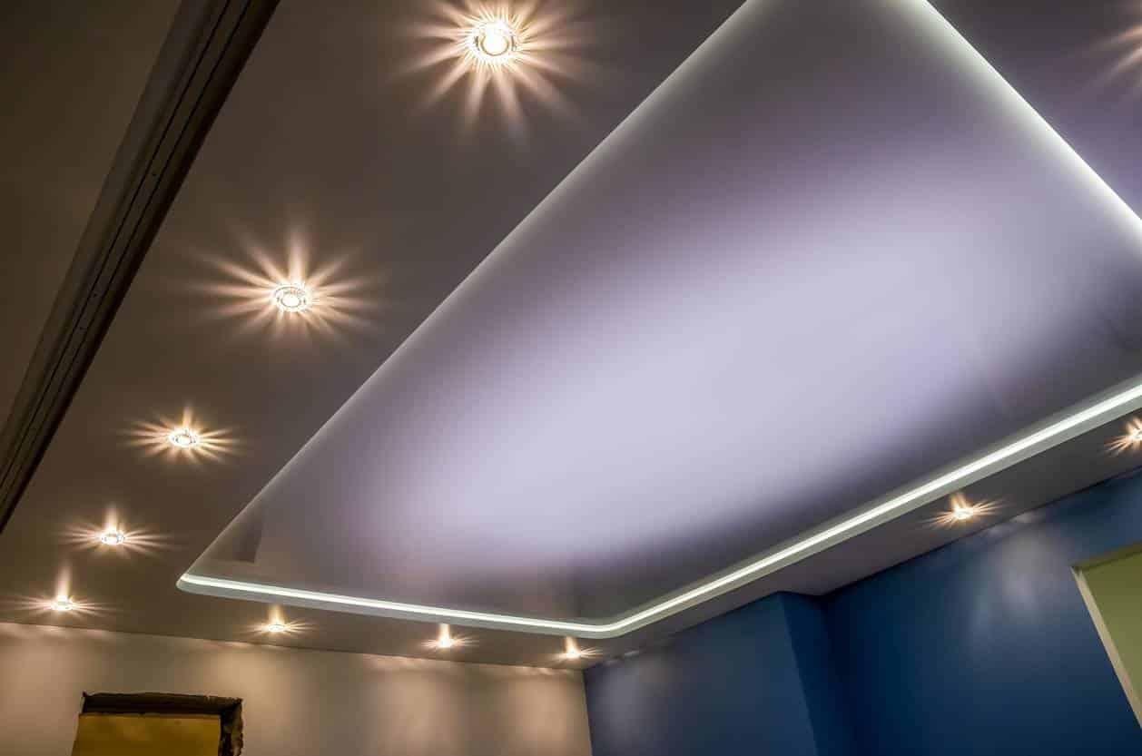 décoration ciel étoilé chambre
